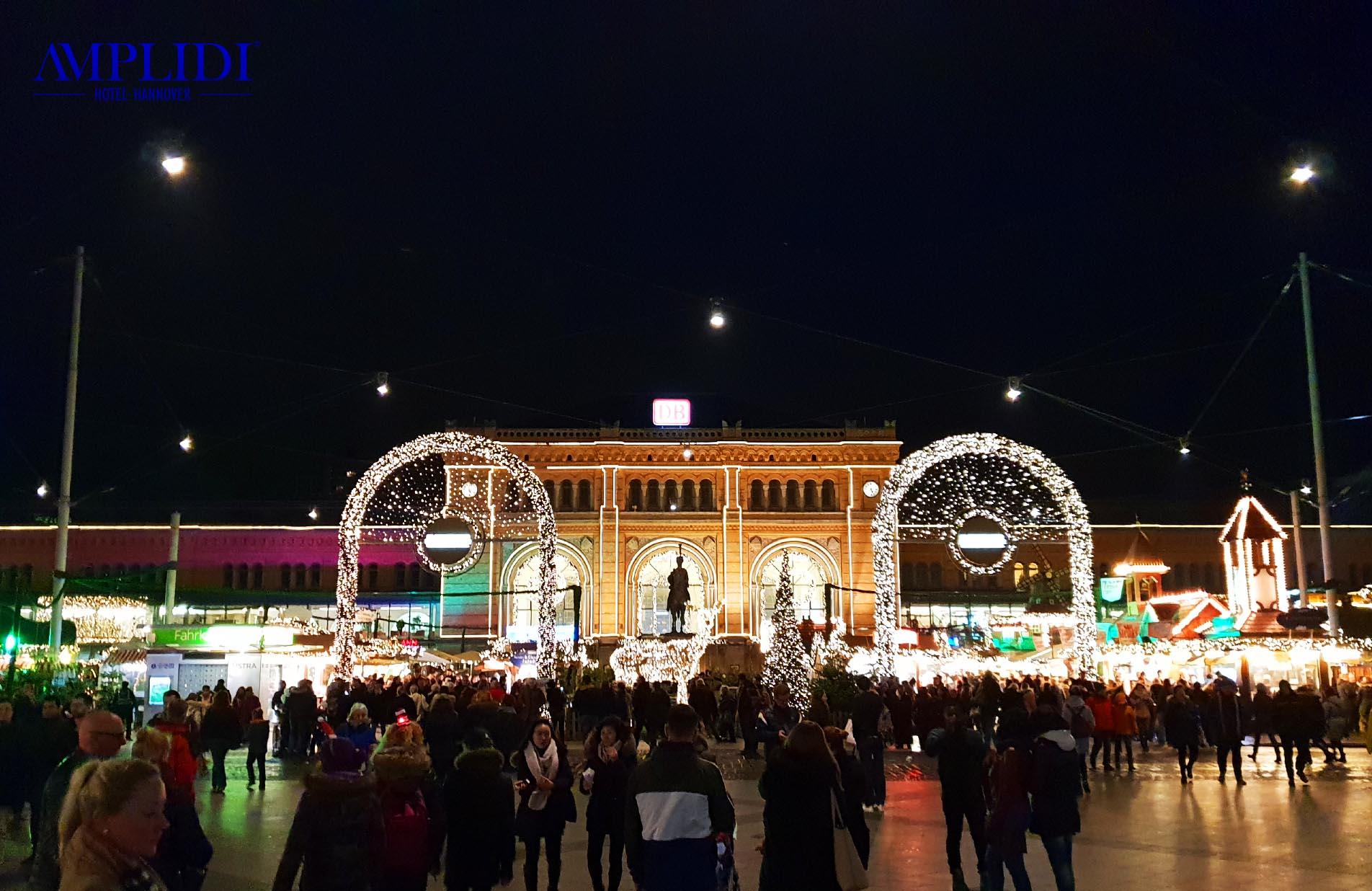 Weihnachtsmarkt am Hauptbahnhof