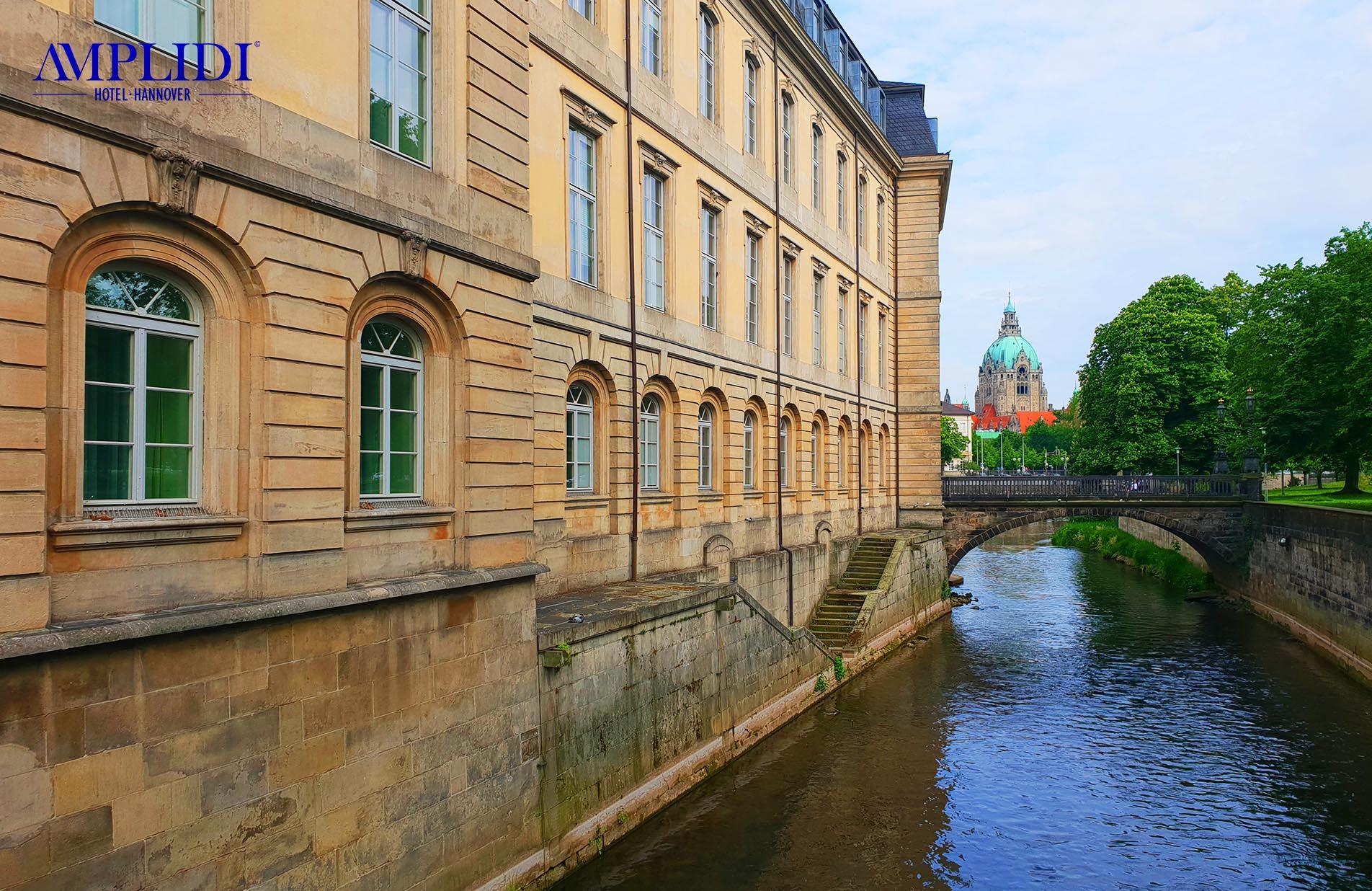 das Leibniz-Haus in Hannovers Altstadt