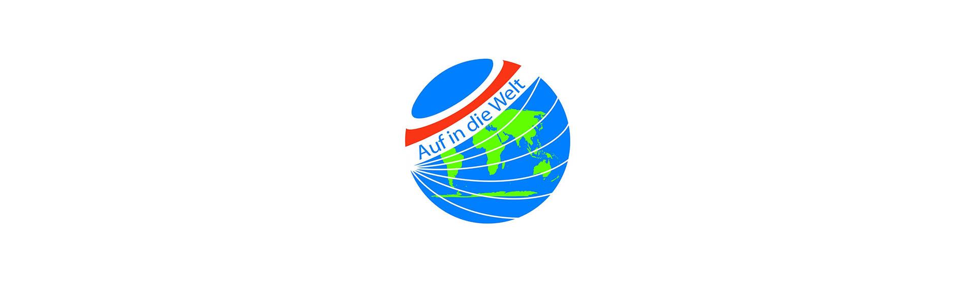 Logo Messe Auf in die Welt